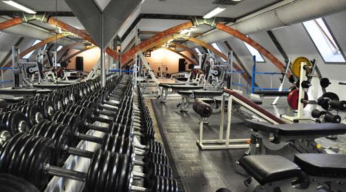 krachttraining sportclub Delft