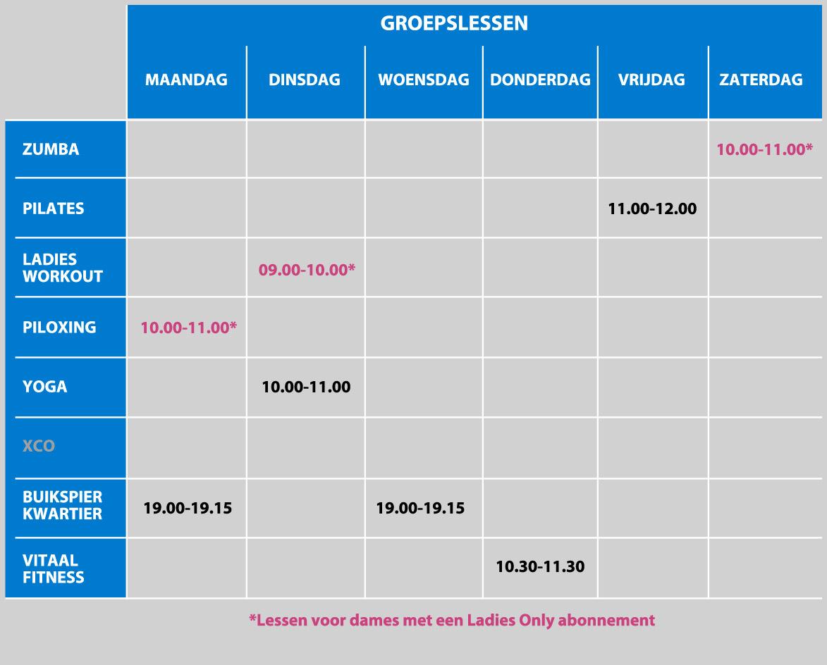 Groepslessen Koster Delft