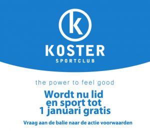 Koster gratis fitness Delft