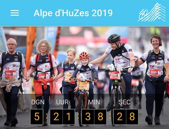 Alpe d'HuZes Koster