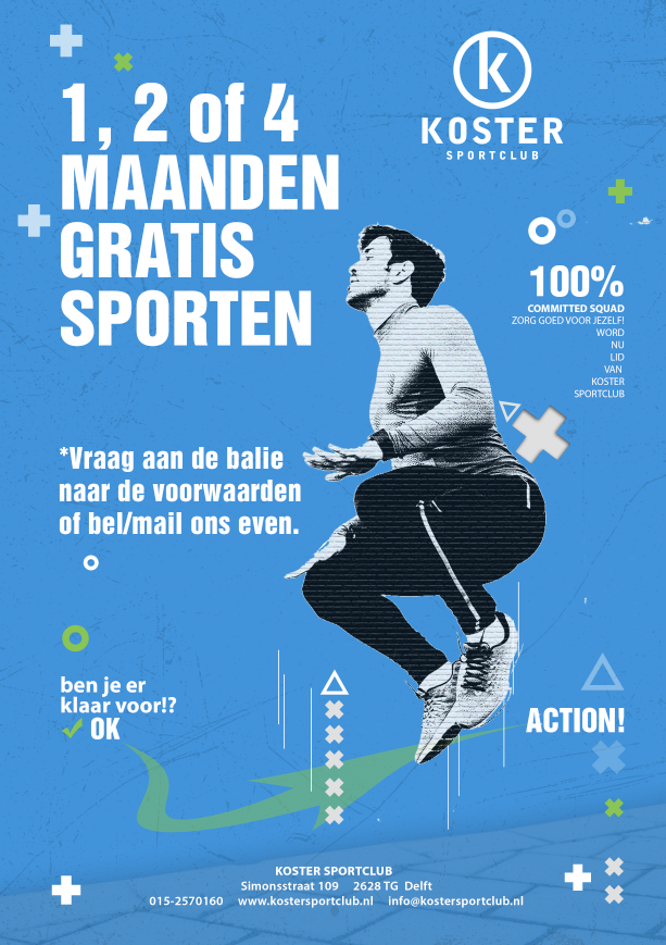 Koster Delft fitness